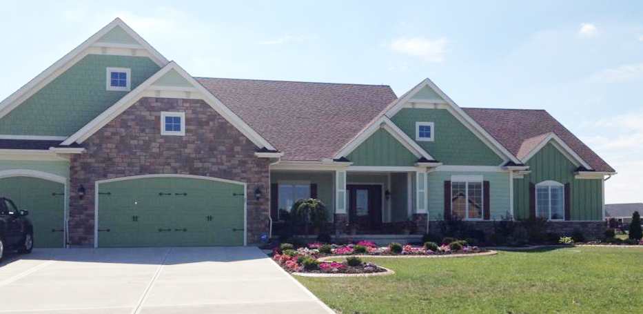 Shreves Construction Custom Home at Rosewood Creek Tipp City Ohio