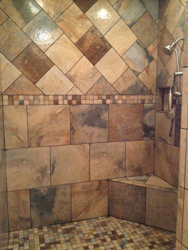 Bathroom Tile Construction : Tile kitchen bath custom home builder shreves